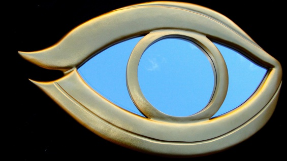 Wandspiegel GOLD BADSPIEGEL XXL DESIGNERSpiegel Oval 117x72 ANTIK Neu