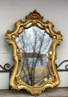 Wandspiegel Barock Gold Badspiegel Spiegel 54X39 Shabby Flurspiegel c498
