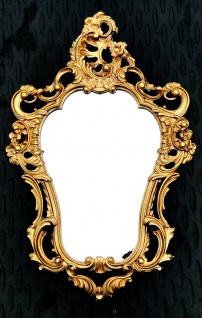 Wandspiegel Retro MÖBEL Vintage Spiegel Antik 50 x 76 BAROCK Oval Neu 118 Gold