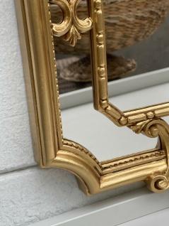 Barock Wandspiegel Gold Prunk Spiegel Antik Rokoko Badspiegel Shabby 59x32cm NEU - Vorschau 4