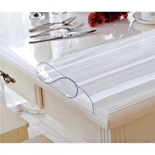 Tischschutz Folie 2, 0mm Pvc Transparent Schutzfolie Tischdecke Meterware 80-100