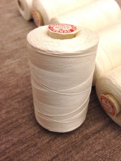 6x Nähgarn 1000 Meter Polyester/Baumwolle Nähgarn Weiß 25/3 Reißfest Angebot