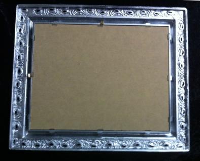Wandspiegel 43x36 Spiegel BAROCK Rechteckig Antik 3059 SILBER Arabesco 1 - Vorschau 4