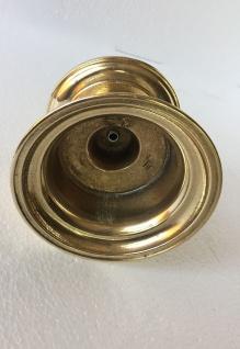 Kerzenhalter Messing Poliert Kerzenleuchter Gold 8 Cm Massiv Kandelaber - Vorschau 5