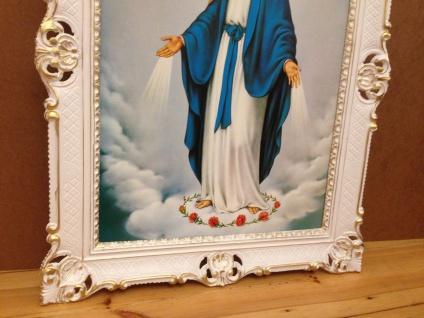 Madonna Heilige Mutter Maria Gemälde 90x70 Bild Wandbild Maria Mutter Gottes - Vorschau 3