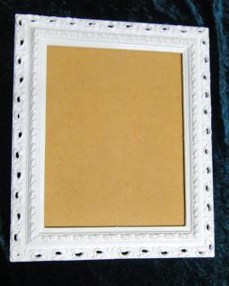 Bilderrahmen Weiß 43x36 Barock Bilderrahmen jugendstill, Shabby, Fotorahmen