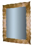 Wandspiegel 110x70 Barock Mirror Flurspiegel Gold Antik Bad spiegel
