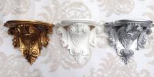Wandkonsole Konsole Barock 29x25cm Spiegelkonsole Antik Blumenständer Wanddeko