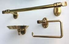 Handtuchhalter Gold Messing Wc Toilette Bad Barock Badaccessoires Seifenspender