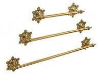 Handtuchhalter Gold Messing Barock Badaccessoires Wc Toilette Bad Luxus Klassik