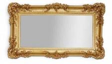 xxl grosser Spiegel barock Wandspiegel Rechteckig Antik WANDDEKO 96x57 Mirror