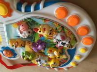 Kindergitarre mit Tiertönen auf Englisch Baby Spielgitarre Spielzeug Tierstimmen