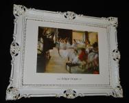 Bild mit Rahmen Balerina Gemälde 90x70 LA CLASSE DE DANSE EDGARD DEGAS