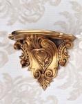 Wandkonsole Konsole Barock Gold 29x25 Wandregale Antik Spiegelkonsole Blumenbank