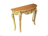 Wandkonsole Gold Antik Sideboard Spiegelkommode Konsole XL Wandtisch Wandkommode