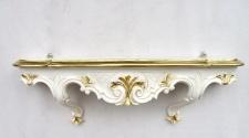 Wandkonsole antik barok regal 49x13x21 Tisch Spiegelkonsole Ablage Telefontisch