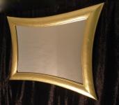 Spiegel Wandspiegel Antikspiegel gold 115cm x85cm Holzrahmen xxl großer Badspie