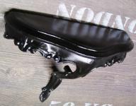 Wandspiegel Konsole Schwarz 23, 5x18x 10 Antik Regale mini Ablage Telefontisch