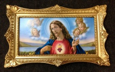 Gerahmte Gemälde Bilder Rahmen Bilderrahmen Groß Rosen