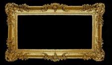 BAROCK Spiegel Wandspiegel Rechteckig Antik WANDDEKO Gold 96x57 Flurspieg 103074