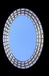 Wandspiegel SILBER XXL Spiegel ANTIK Oval 101x75 Flurspiegel Badspiegel Mirror 1