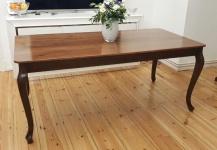 Design Esszimmertisch 90x180 walnussbaum Esstisch Holz Esszimmer Tisch Handmade