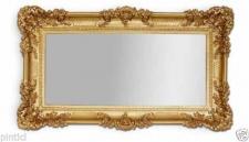 Wandspiegel Barock GOLD Spiegel Repro DEKO 97x57 Groß