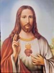 Heilige Bild Jesus Christus 40x30 Religiöse Bilder Ikonen Jesu Schlafzimmerbild