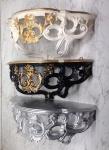 Wandkonsole Spiegel Konsole Antik Barock Stil Rokoko 40x17 Wandregal Blumenbank