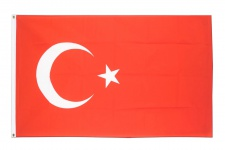 2 Fahnen Set 90x150 Türkische Fahne XXL Hissfahne Hissflagge fußball WM EM