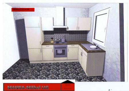 Einbauküche MANKAZETA Küchenzeile L-Form m. E-Geräte - Kaufen bei ...