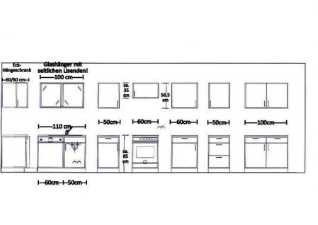 Unterschrank mit APL und Hängeschrank MANKAPORTABLE Buche 100cm breit Küche - Vorschau 3