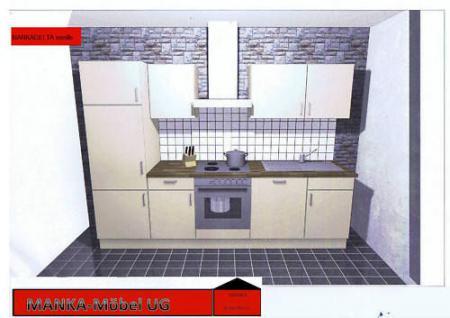 Einbauküche MANKADELTA Küche Küchenzeile E-Geräte/Spülm
