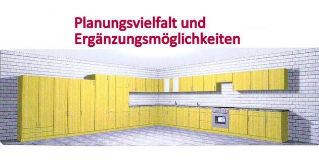 Küchenzeile MANKAPORTABLE 9 Küche 210cm Küchenblock in Buche m. E-Geräte u.Spüle - Vorschau 2