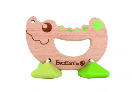 Rassel-Spielzeug Krokodil