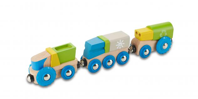 Recycling-Eisenbahn