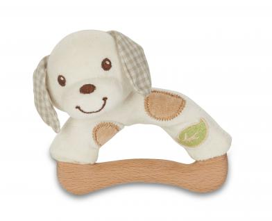 Kleine-Plüsch-Rassel Hund