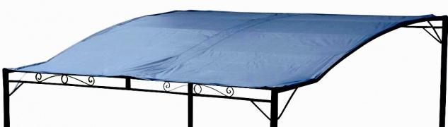 Dachplane wasserfest für Anlehn Pavillon 7107 anthrazit - kein Umtausch oder Rückgaberecht von AS-S
