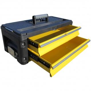 Erweiterungsbox Werkzeugkiste mit 2 Laden - Erweiterung für unsere Trolleys Serie 305 - Vorschau 1