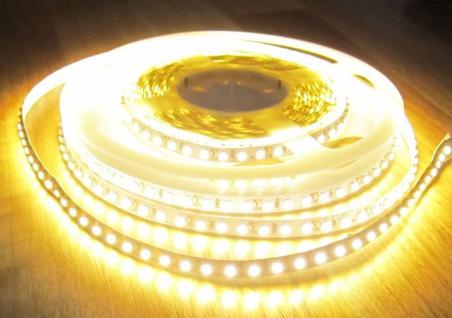 2660 Lumen 5m Led Streifen 600 LED warmweiß 12Volt ohne Netzteil