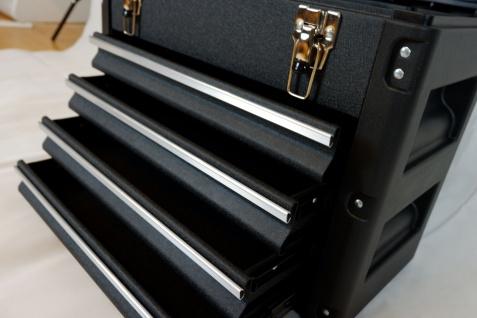 Metall Werkzeugkiste Mit 8 Funktionen Wk1-b Black Edition - Vorschau 3
