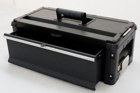 AS-S Erweiterungsbox Werkzeugkiste mit 1 Lade für unsere schwarzen Trolleys - Vorschau 2