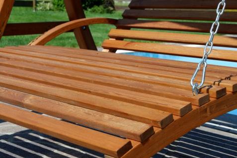 AS-S Design Hollywoodliege Hollywoodschaukel MACAO-OD aus Holz Lärche ohne Dach von - Vorschau 2