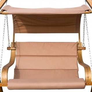 Ersatz Stoffpolster und Dachstoff für Hollywoodschaukel SEAT-Antigua (NUR SESSELSTOFF ohne Holzteile)