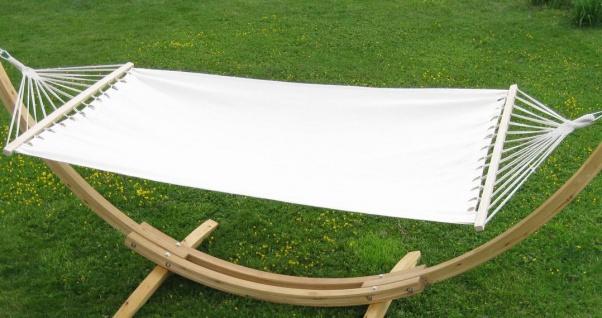 Hängematte 120x200cm BEIGE aus Baumwolle von AS-S