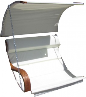 Ersatz Stoffpolster und Dachstoff für Hollywoodschaukel SEAT-MERU (NUR SESSELSTOFF ohne Holzteile) von AS-S