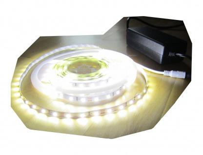 SET 6250 Lumen 5m Ultra Highpower Led Streifen mit 300 2835 LED's neutralweiß natur weiss naturweiß superhell inkl. Netzteil 24V (Pro-Serie) TÜV/GS geprüft von AS-S