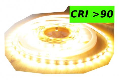 6100 Lumen CRI>90 5m Ultra-Highpower LED Streifen mit 300 2835 LED's warmweiß warm weiss weiß superhell 24V ohne Netzteil