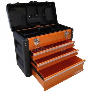 METALL Werkzeugkiste mit 7 Funktionen 3061BC von AS-S