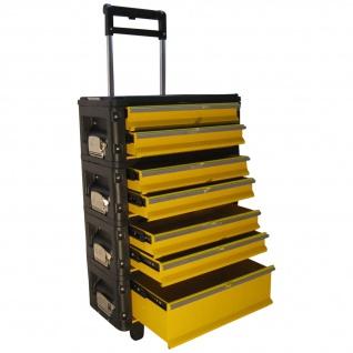 Metall Werkzeugtrolley XXL Serie 305B mit Schubladenverriegelung und Schloss von AS-S